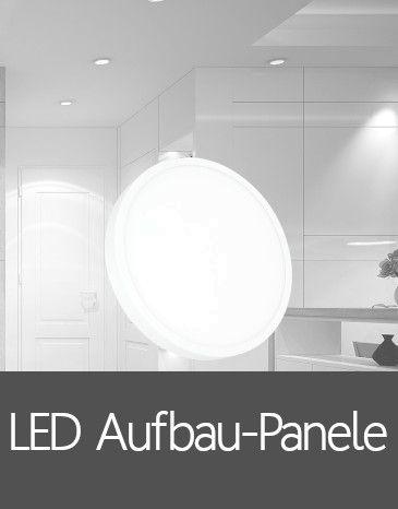 LED Aufbau-Panele