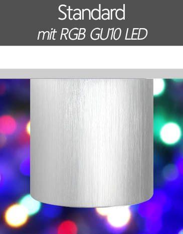 LED Aufbaustrahler RGB Farbwechsel Standard GU10