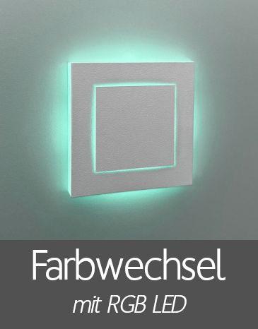 LED Treppenbeleuchtung mit RGB Farbwechsel