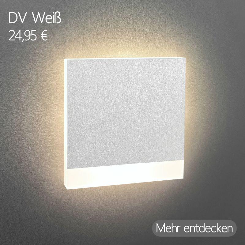LED Stufenleuchte Dreiviertel