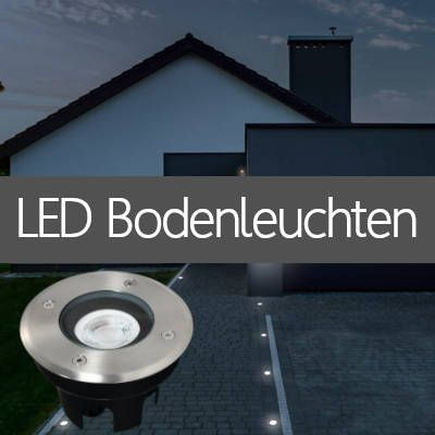 LED Bodenstrahler IP67 für Pflasterflächen Beet Erdspießstrahler